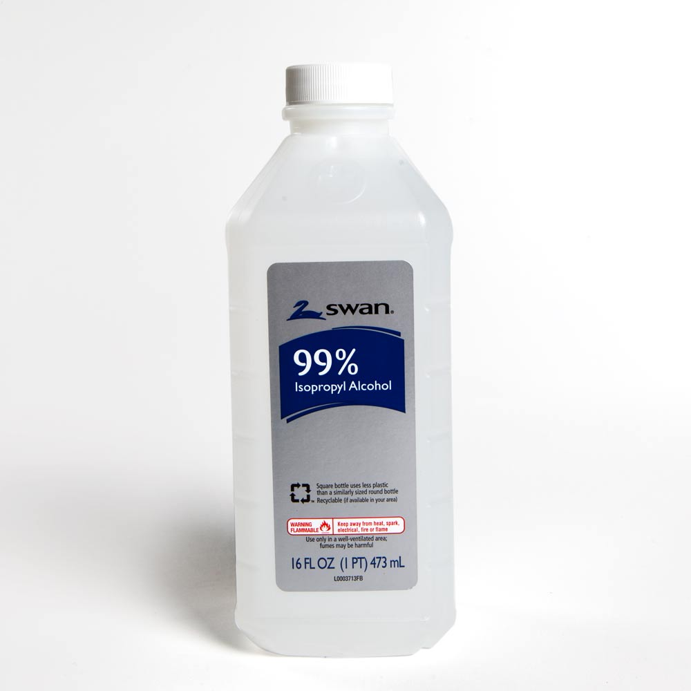 Swan 99% Isopropyl Alcohol 16oz